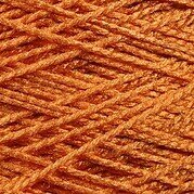 Needloft Craft Yarn 20 Yard Card - Pumpkin