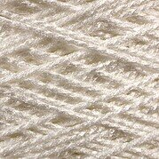 Needloft Craft Yarn 20 Yard Card - White