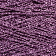 Needloft Craft Yarn 20 Yard Card - Purple