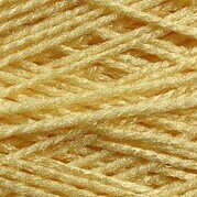 Needloft Craft Yarn 20 Yard Card - Yellow