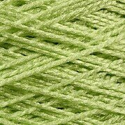 Needloft Craft Yarn 20 Yard Card - Bright Green