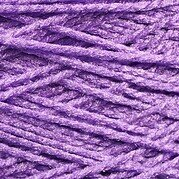 Needloft Craft Yarn 20 Yard Card - Bright Purple