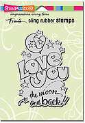 Great Big Love - Cling Rubber Stamp