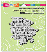 Special Day - Cling Rubber Stamp