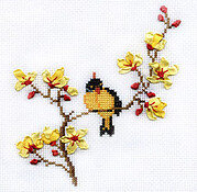 Spring Song - Ribbon Embroidery Kit