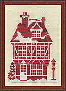 Ginger House - Cross Stitch Kit