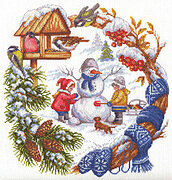 Winter Fun - Cross Stitch Kit