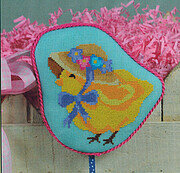 Bonnet Chick - Cross Stitch Pattern