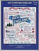 Let's Visit New England - Cross Stitch Pattern
