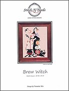 Brew Witch - Cross Stitch Pattern