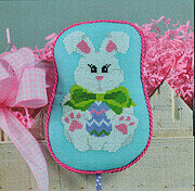 Bow Tie Bunny - Cross Stitch Pattern