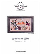 Pumpkins Ride - Cross Stitch Pattern