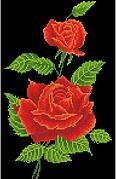Red Rose Corsage - Diamond Dotz Facet Art Kit