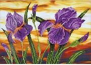 Iris Sunset  - Diamond Dotz Facet Art Kit