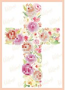 Blessings - Diamond Embroidery Greeting Card Kit