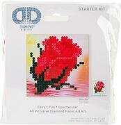 Bliss Bud Rose Flower - Diamond Dotz Facet Art Kit