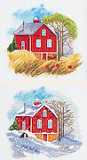 Seasons: Autumn and Winter - Cross Stitch Kit