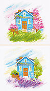 Seasons: Spring and Summer - Cross Stitch Kit