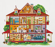 Country House - Cross Stitch Kit