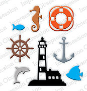 Mini Nautical - Impression Obsession Craft Die