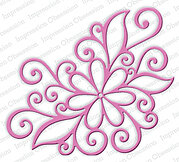 Open Scroll Flower - Impression Obsession Craft Die