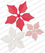 Large Poinsettia - Impression Obsession Craft Die