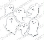Mini Ghosts Halloween - Impression Obsession Craft Die