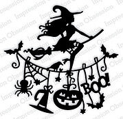 Witch Line Halloween - Impression Obsession Craft Die