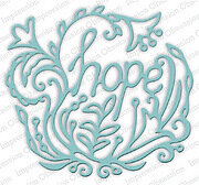 Hope - Impression Obsession Craft Die