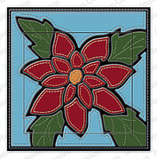 Quilted Poinsettia - Impression Obsession Craft Die