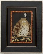 Hooty Owl - Beaded Cross Stitch Kit
