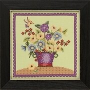 Floral Bouquet - Debbie Mumm - Beaded Cross Stitch Kit