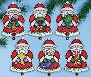 Santa's Gifts (Santa Ornaments) - Cross Stitch Kit