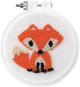 Fox - Punchneedle Kit