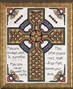 Celtic Cross - Counted Cross Stitch Kit
