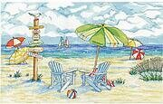 Beach Signs - Cross Stitch Kit