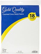 18 Count White Aida Fabric - 60 x 36 inches