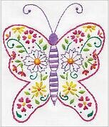 Butterfly - Cross Stitch Kit
