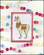 Llama Stitch and Mat - Cross Stitch Kit