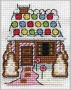 Gingerbread House - Christmas Cross Stitch Kit