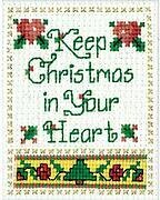Christmas In Your Heart - Cross Stitch Kit
