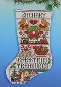 Christmas Treasures Christmas Stocking - Cross Stitch Kit