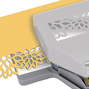 Diamond Flowers Large Edger Paper Punch