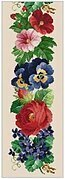 Flower Border - Cross Stitch Pattern