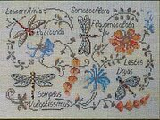 Dragonflies - Cross Stitch Pattern