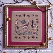 Christmas of a Cat - Cross Stitch Pattern