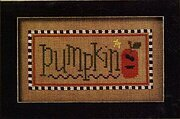 Halloween Boo Club - Pumpkin/Fright Cross Stitch Pattern