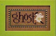 Halloween Double Flip - Ghost/Halloween - Cross Stitch
