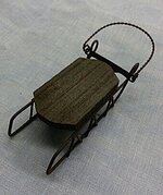 Small Sled Ornament