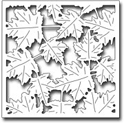 Blowing Leaves Square - Frantic Stamper Craft Dies